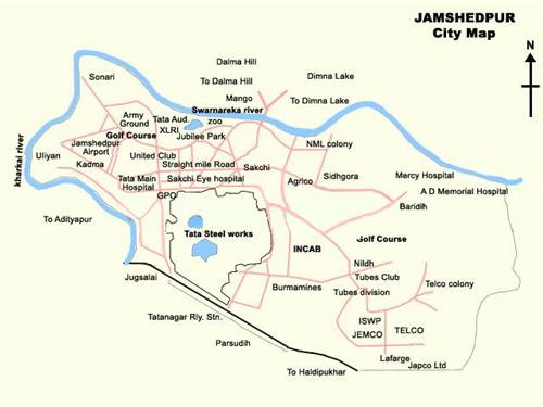 Geography of Jamshedpur