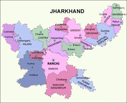 Geography of Jharkhand