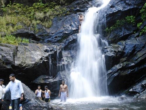 Waterfalls in  Ghatshila