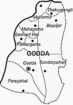 Geography of Godda