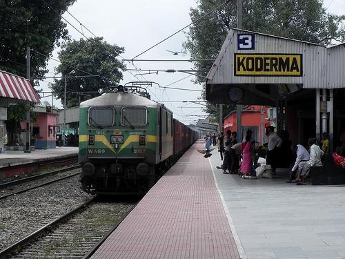 Trains from Koderma