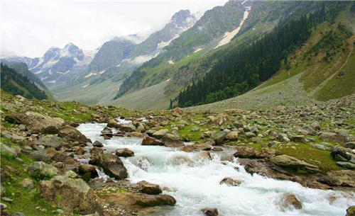 Water bodies in Jammu and Kashmir