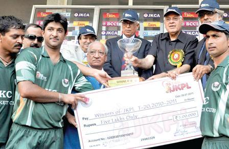 Cricket in JK