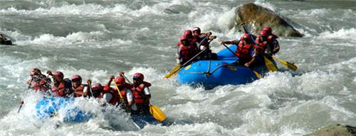 Water Rafting in Jammu and Kashmir