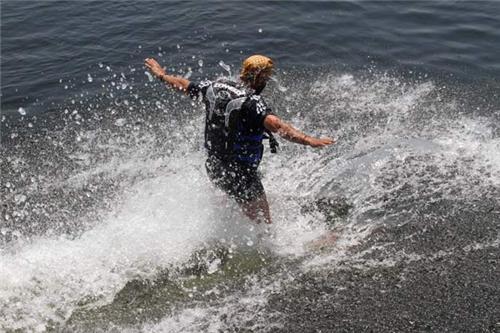 Water Skiing in Kashmir