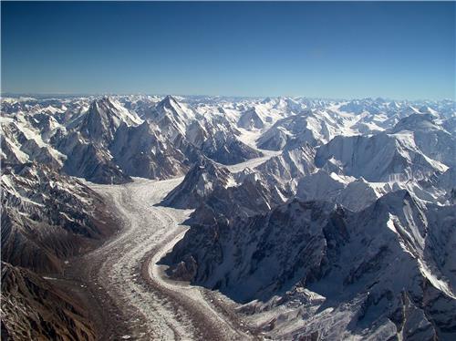 Baltoro Glacier in Ladakh
