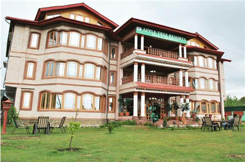 Grandeur View of Hotel Apple Tree Resort in Gulmarg