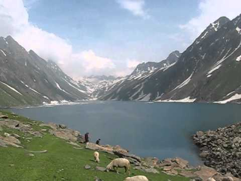 Kausarnag Lake in JK