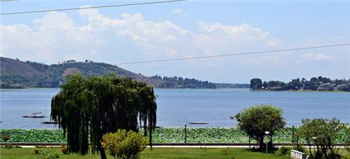 Walur Lake situated at Bandipora in Jammu Kashmir