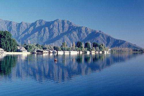 Nagin Lakes situated at Srinagar in Jammu & Kashmir