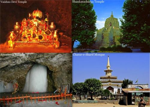 8 Religious places in JK