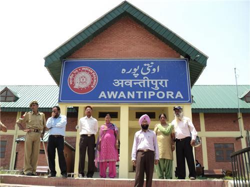 Awantipora Ralway Station