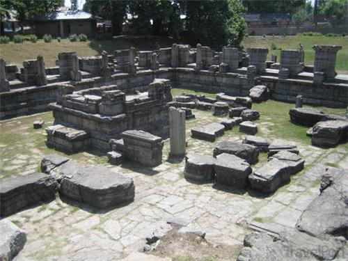 The Ruins of Awantisvamin Temple