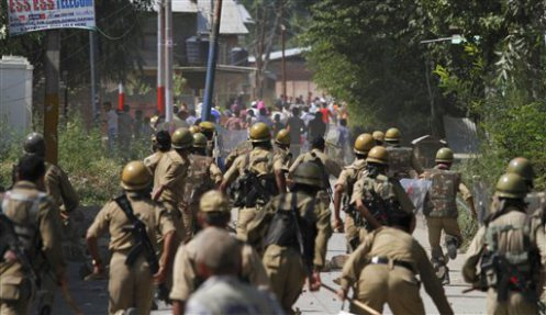 Police Force in Bandipore