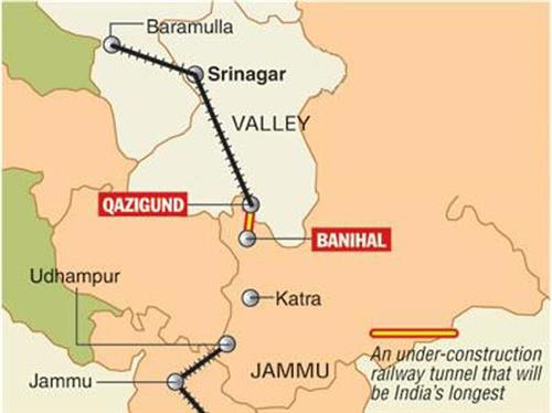 Geography of Banihal