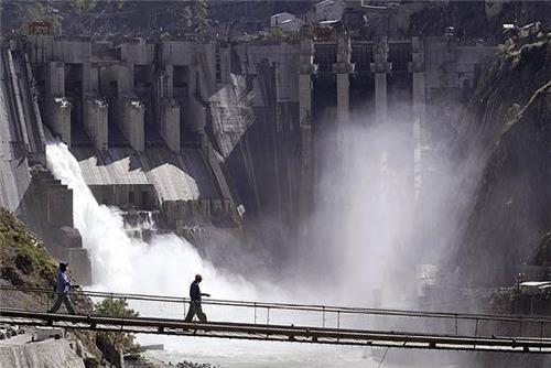 Baglihar Dam on River Chenub