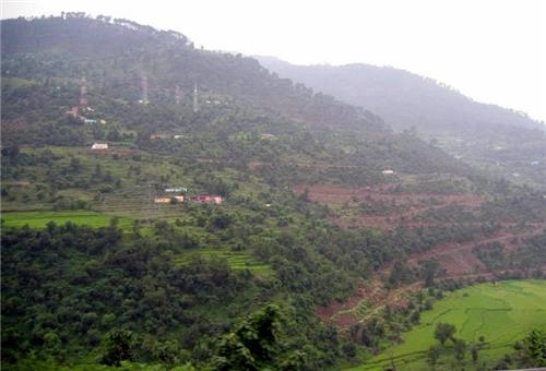 Route to Sudh Mahadev Temple