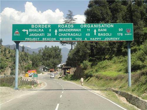 Reach Bhaderwah by Road