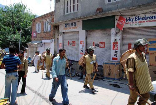 Police in Doda