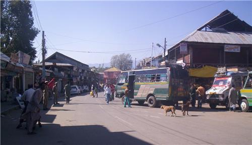 Handwara City