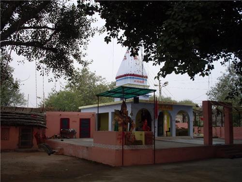 Temple of Mahakali inside Jandi Fort