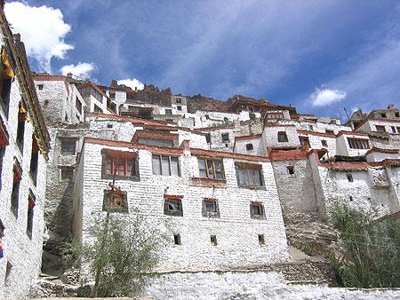 Structure of Karsha Monastery near Kargil