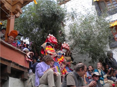 Events at Karsha Monastery near Kargil