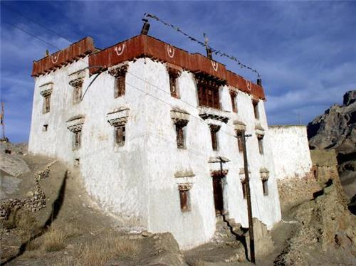 Structure and Architecture of Mulbekh Monastery in Kargil