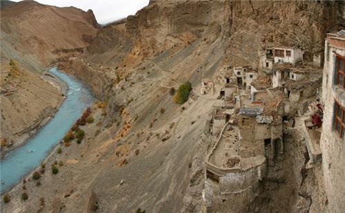 Beautiful Location of Phugthal Monastery in Kargil