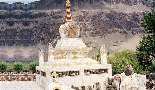 History and Architecture of Sani monastery in Kargil