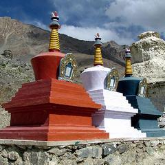 Beauty of Stongday Monastery in Kargil