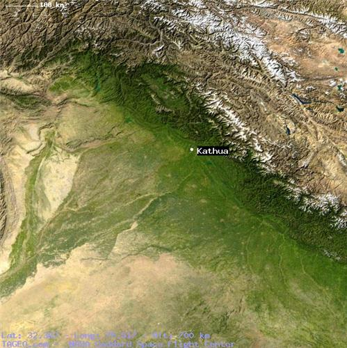 Geographical Conditions of Kathua