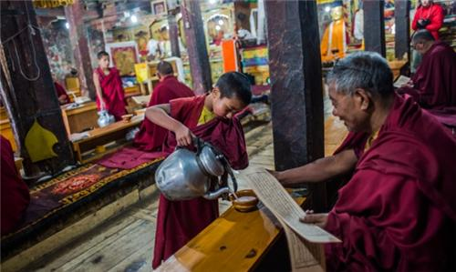 Culture inside the Monasteries in Leh
