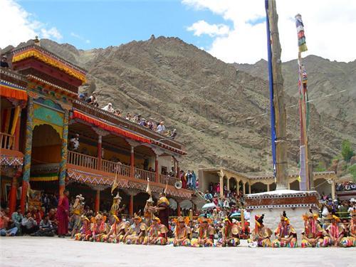 About Galdan Namchot Festival