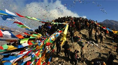 Galdan Namchot Festival
