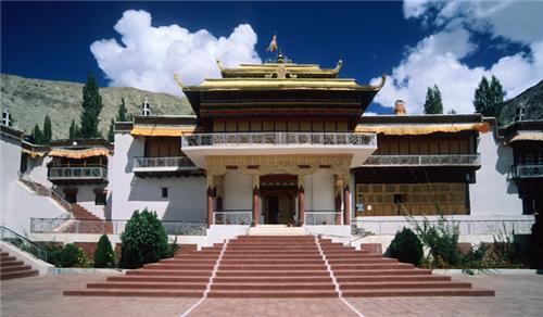 Samstanling Monastery in Leh
