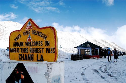 Changla Pass in Leh