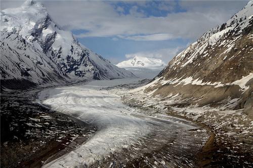 Drang Drung Glacier in Leh