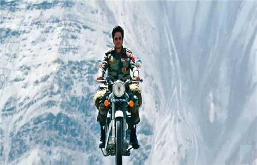 Shooting of Jab Tak Hai Jaan