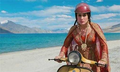 Kareena Kapoor in Leh Ladakh