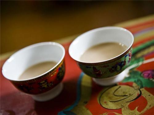 Tea in Leh