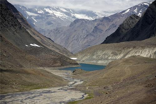 Water bodies in Leh