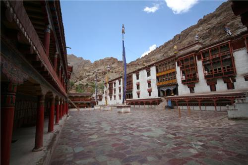 View of Hemis Monastry