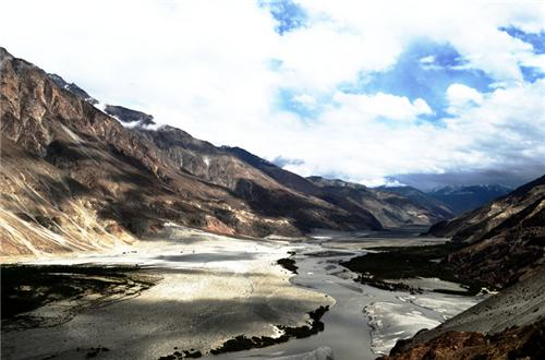 Features of Hunder Sand Dunes in Leh