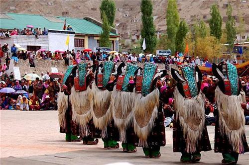 During the Ladakh Festival