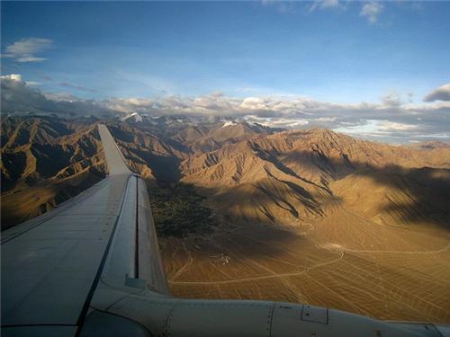 View of Leh Airport