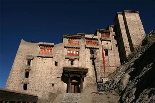 Entrace of Leh Palace