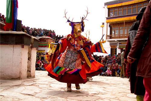 Colorful Matho Nagrang Festival in Leh