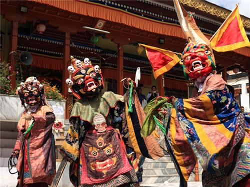 About Matho Nagrang Festival in Leh