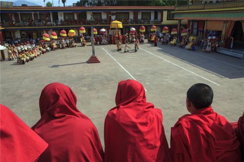 Saka Dawa Festival in Ladakh